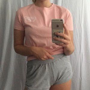 Vans Tops - Vans pink tee